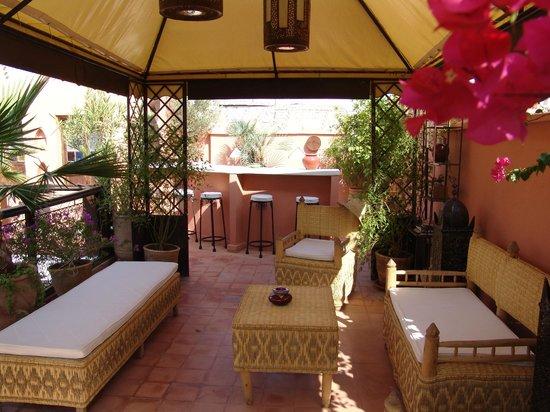 Riad Les Nuits de Marrakech: espace détente
