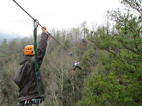 CLIMB Works - Smoky Mountains: Feels like flying!