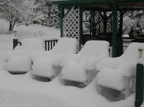 Evasion Gite et Refuges: L'hiver s'est installé!