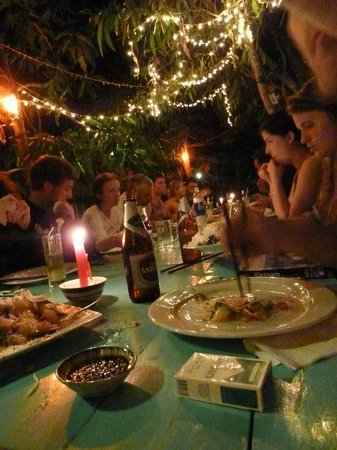 Freedomland Phu Quoc Resort: Another delicious evening meal @ Freedomland. Feb 2011 