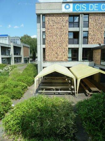 Centre International de Sejour: terrasse