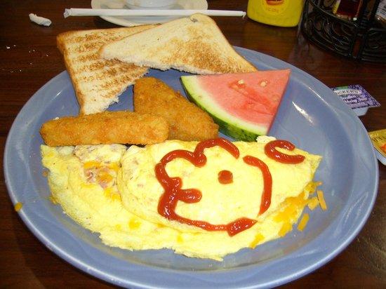 Pacific Islands Club Guam: ロックンロールカフェ朝食