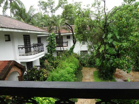 Vila Goesa Beach Resort: View from Balcony