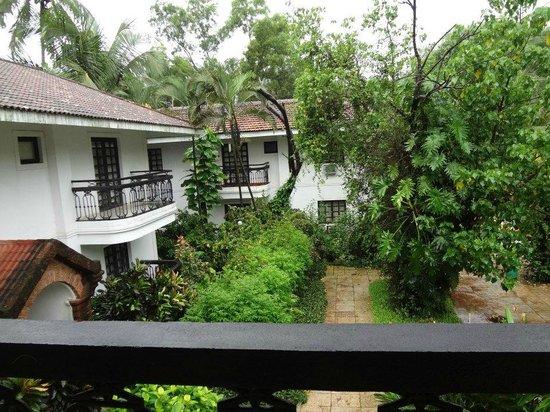 Vila Goesa Beach Resort: View from Balcony
