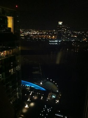 Baltimore Marriott Waterfront: view from my room