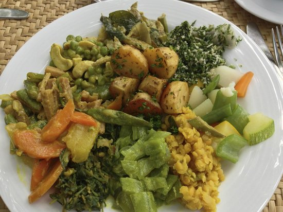 Barberyn Beach Ayurveda Resort : delicious food