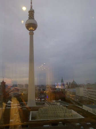 Park Inn by Radisson Berlin Alexanderplatz: View of the TV Tower from our room