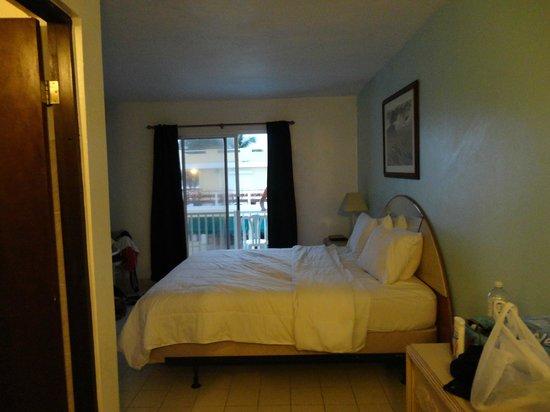 Hotel Yunque Mar: camera, vista dall'ingresso