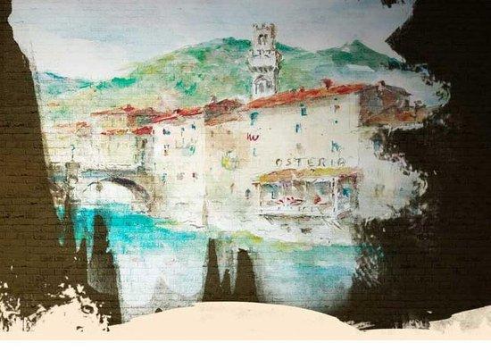 La Vecchia Osteria del Borgo: visione grafica