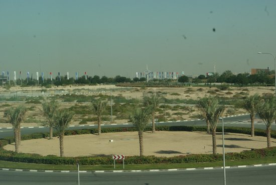 Premier Inn Dubai Silicon Oasis Hotel: View from the room