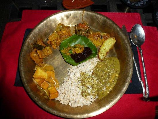 Dwarika's Hotel: Main course