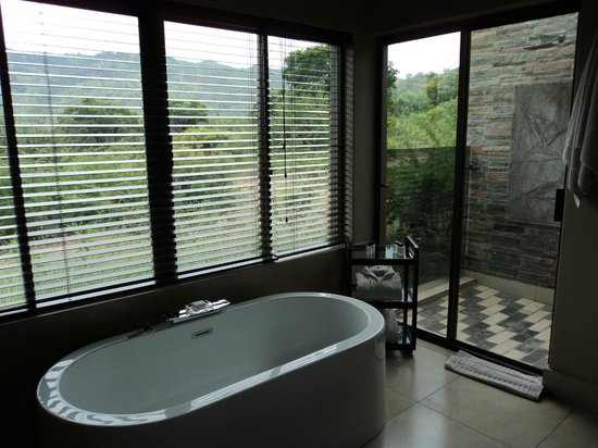 Shepherd's Tree Game Lodge: View from the bathroom