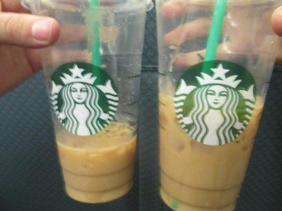 Starbucks : <3Caramel macchiatos