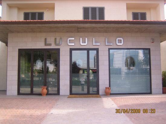 Calenzano, Italy: RISTORANTE LUCULLO