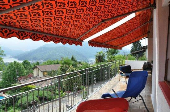 Villa Colibri: Terrazza con vista