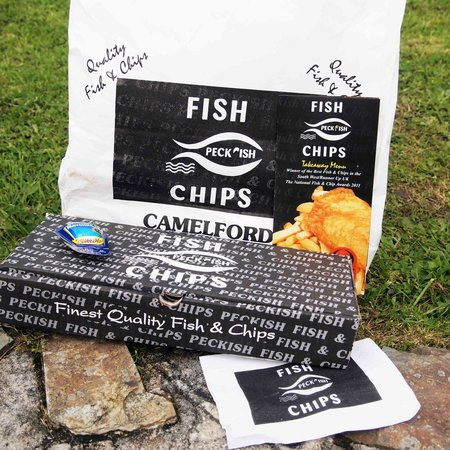 Peckish Fish and Chips: This is how you get your Fish and chips.