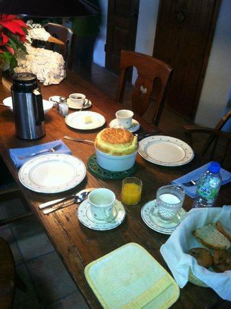 Dunshee's Casita: Breakfast