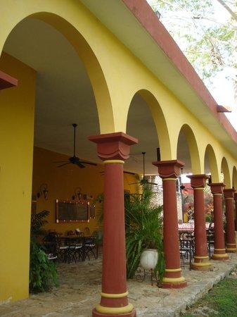 Hacienda Santa Cruz: salle à manger