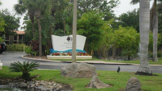 Doubletree by Hilton Orlando at SeaWorld: Entrance