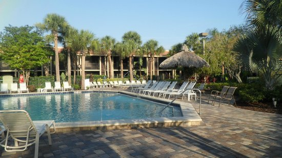 grounds picture of doubletree by hilton orlando at. Black Bedroom Furniture Sets. Home Design Ideas