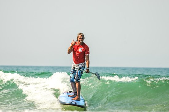 Lagoondy Surfcamp : Lagoondy stand up paddle
