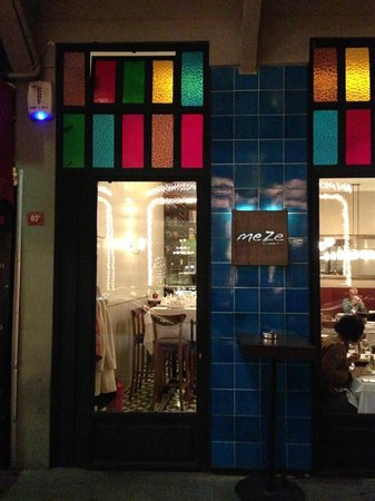 Meze By Lemon Tree: Restaurant Exterior