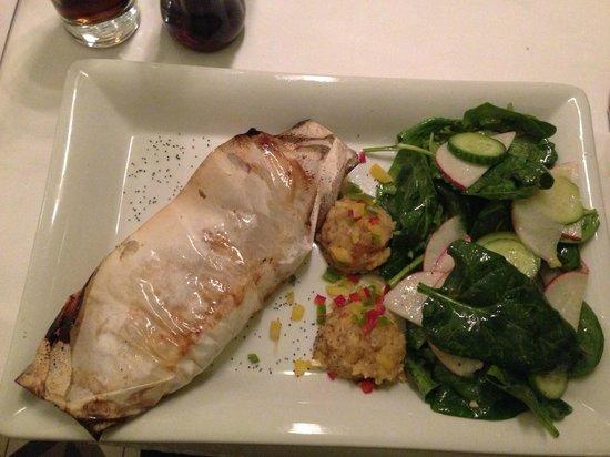 Meze By Lemon Tree: The amazing baked sea-bass