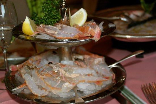 Ristorante Murtarol: Delicious Shrimp Carpaccio