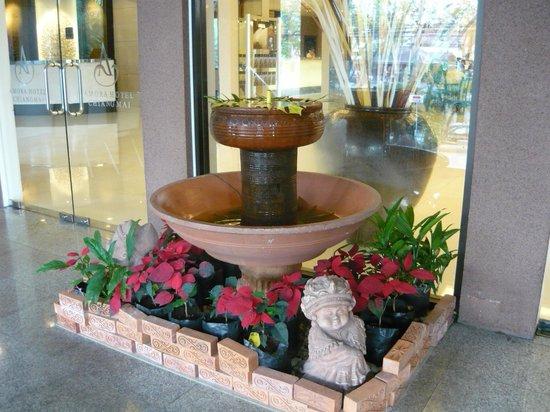 Amora Resort Tapae Chiangmai: Lobby area