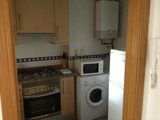 Apartamentos Lido: cocina