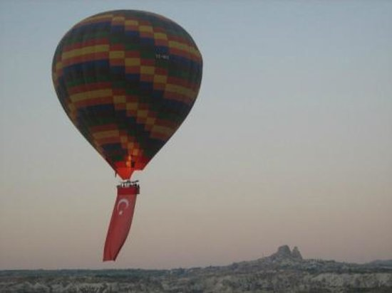 Turkish National day. - Picture of Goreme Balloons, Urgup ...