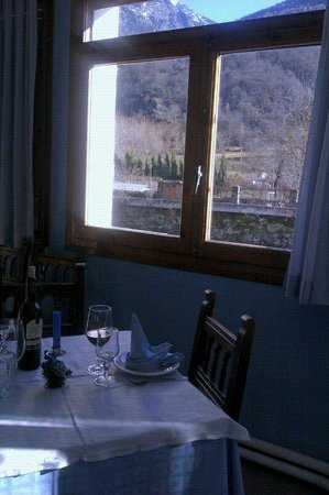 Hotel Restaurant Garona: Vistas desde el comedor