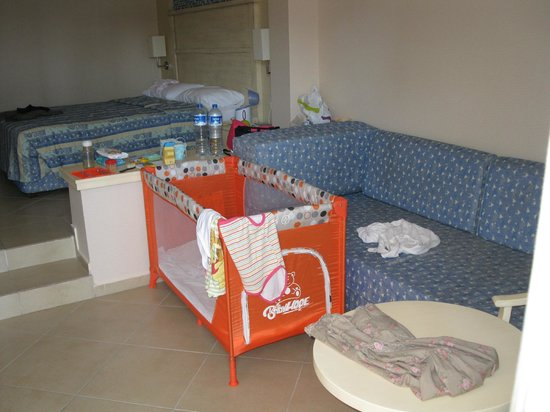 Ephesia Holiday Beach Club: chambre