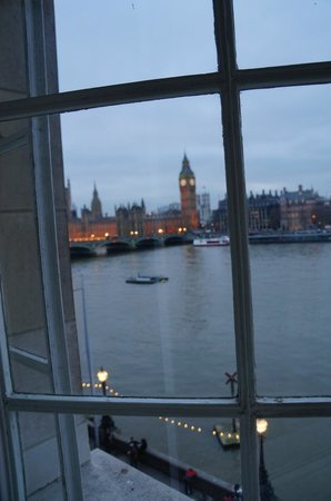 London Marriott Hotel County Hall: View from our bedroom window..-Wonderfu