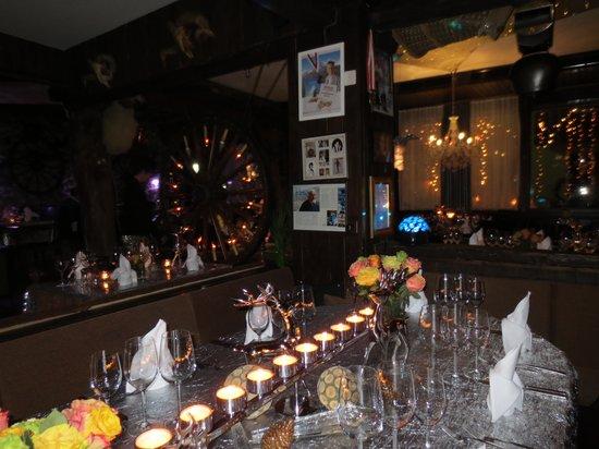 Restaurant Chez Heini: Innen