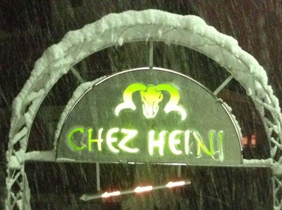 Restaurant Chez Heini: Eingang