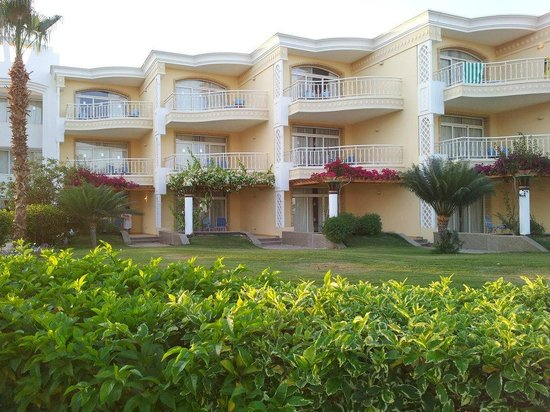 SENTIDO Palm Royale Soma Bay: Blick auf unser Zimmer