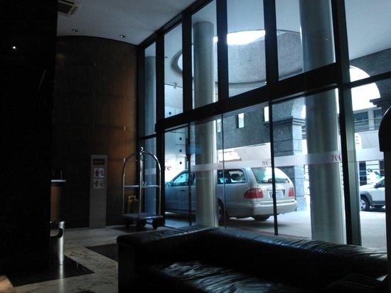 Mercure Hotel Curitiba Centro: hotel entrance
