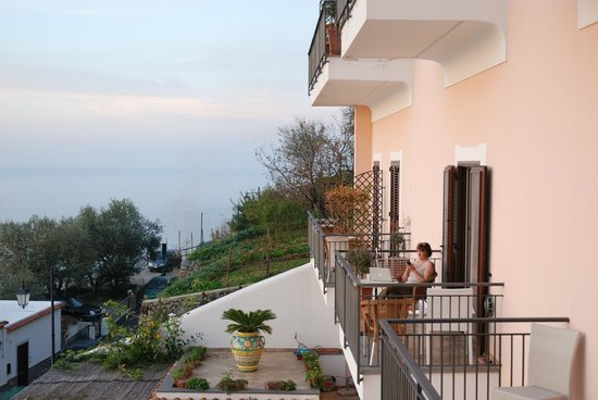 Hotel Margherita: Balcony and ocean view