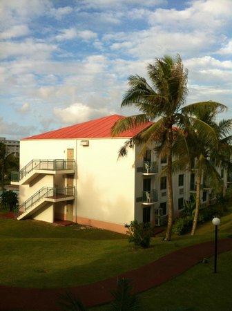 Garden Villa Hotel:                   敷地内