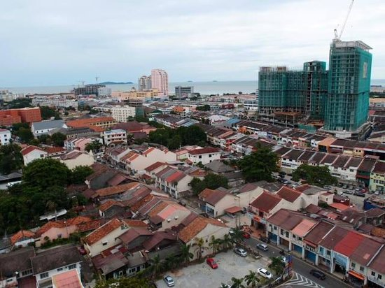 Hotel Equatorial Melaka: view from the balcony