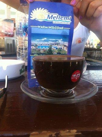 Meltemi: Greek coffee! Enjoy…!!!