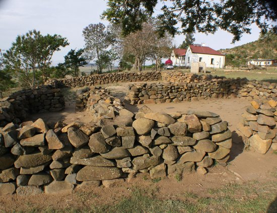 Rorke's Drift : The redoubts infront of the Church where hand-to-hand fighting took place