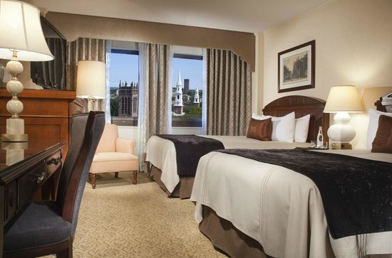 Omni New Haven Hotel at Yale: Deluxe Double Room