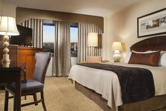 Omni New Haven Hotel at Yale: Deluxe King