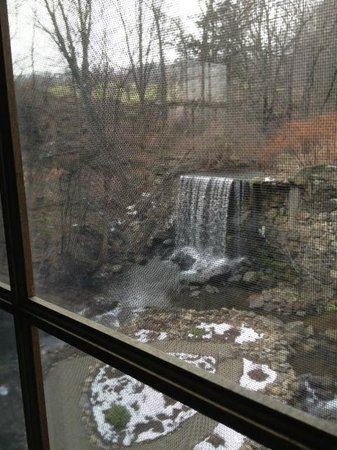 Glenwood Mill Bed & Breakfast: View from the window
