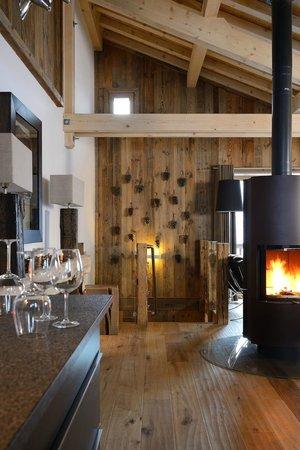 Chamois Lodge - The Alpine Club: Gorgeous alpine decor