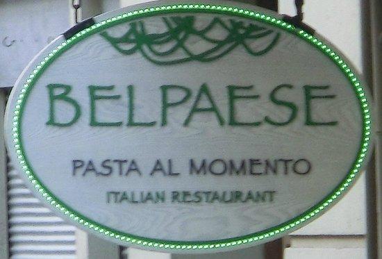 Belpaese : 看板