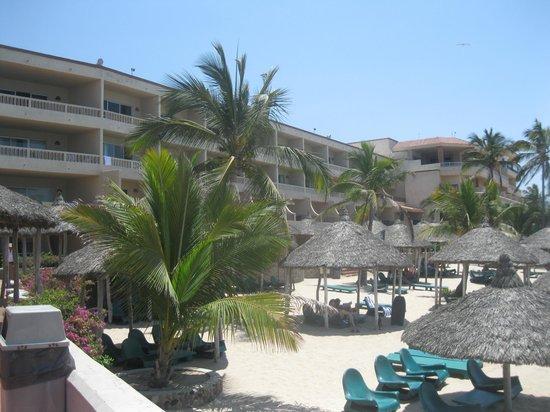 Hotel Playa Mazatlan: las palapas