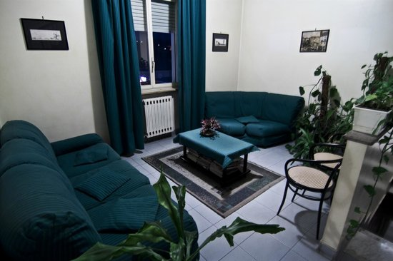 Hotel Falisco : Saletta